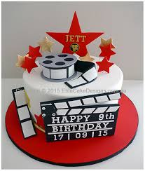Hollywood Movie Theme Birthday Cake Childrens Birthday Cakes 16th