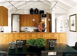 vaulted ceiling track lighting. Vaulted Ceiling Decor With Square Track Lighting And Wood Pallet N