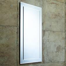 Bevelled Bathroom Mirror Roper Rhodes Elle Designer Bevelled Bathroom Mirror 405mm Mps403