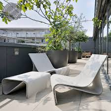 modern concrete patio furniture. Delighful Furniture Sponeck Chair Modern Concrete Architectural Design Garden To Patio Furniture O