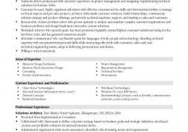 Project Manager Objective Resume Samples Project Management