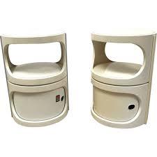 flair design furniture. Set Of 2 Vintage Plastic Nightstands By Flair Flair Design Furniture
