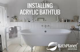 the cons time consuming installing acrylic bathtubs