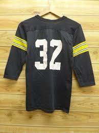 Rawlings Vintage Black T-shirt Men Small Old Football Size Nfl ピッツバーグスティラーズ Clothes Used