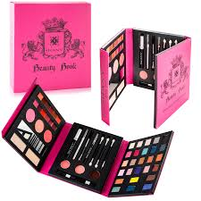 shany beauty book all in one makeup palette with tools eyes lips and face