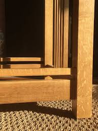hardwood types for furniture. Furniture In The Arts And Crafts Movement Is Commonly Associated With White Oak \u2014 Specifically, Quartersawn Oak. Wood Has Tight, Hardwood Types For