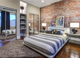 cool ideas for exposed brick wall interiors