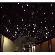 5 w fluorescent star ceiling fiber