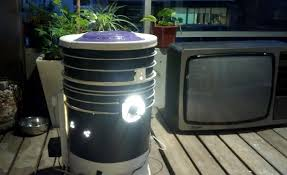 example of a diy space bucket for growing