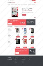 Vending Machine Website Amazing Page 48 Website Templates Vending Machines Supplier Machine Custom