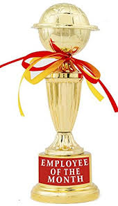 Employee Of The Month Trophy Buy Employee Of The Month Trophy Award Gift By Aark India
