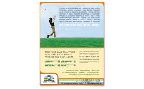 Fishing Tournament Flyer Template Golf Course Instructor Templates Word Publisher Powerpoint