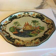 Daher Decorated Ware 11101 Tray daher decorated ware 100 made eBay 90