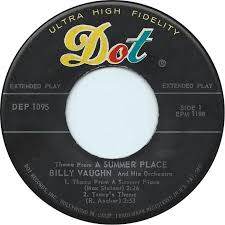 45cat billy vaughn and his orchestra theme from a summer place dot usa