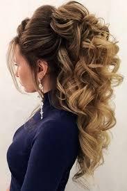 30 Chic Half Up Half Down Bridesmaid Hairstyles účesy Peinados