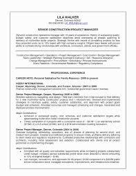 Construction Resume Examples How To Write An Impressive Senior