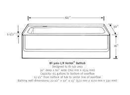 bathtub size tub dimensions amazing freestanding small bathtub dimensions line drawing dimensions of bathtub cm antique