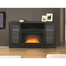 electric fireplace tv stand corner dark cherry finish bjs 70 inch costco electric fireplace