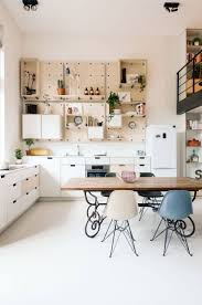 The large pegboard wall units are gorgeous.