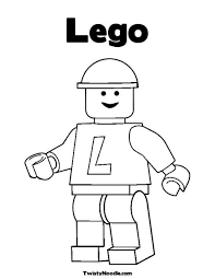Small Picture Lego Man Coloring Pages To Print FunyColoring