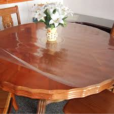 detail feedback questions about transpa scrub soft glass table cloth zhong tian crystal plate waterproof oil disposable circle dining table mat size