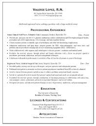 Nursing Resume Cover Letter Inspiration Er Rn Resume Er Nursing Resume Ideas Collection Emergency Nurse