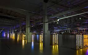 Data Center Lighting Design Inside Google Data Center Warehouse Data Center In 2019