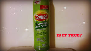 comet foaming cleanser