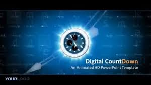 Digital Count Down A Powerpoint Template From