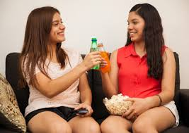 tactful tips for resisting peer pressure to use drugs and alcohol two teen girls drinking soda
