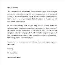 Employee Verification Letter Employee Verification Letter Template ...