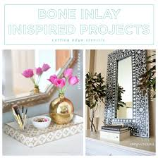 indian craft ideas for home decor. diy bone inlay inspired home decor projects using stencils from cutting edge stencils. http: indian craft ideas for r
