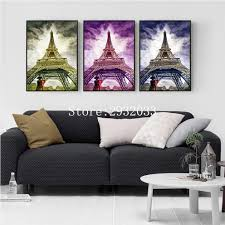 Painting Wall For Living Room Popular Pari Painting Buy Cheap Pari Painting Lots From China Pari