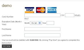 Credit Card Authorization Form Template Word Template Business