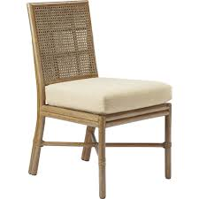 Mcguire Designer Furniture Buy Square Back Caned Side Chair By Mcguire Furniture