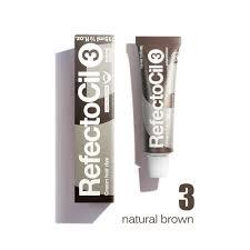 Refectocil Cream Hair Dye Light Brown 5oz Refectocil Cream Hair Dye 3 Natural Brown 15 Ml 1 2 Oz Made In Austria