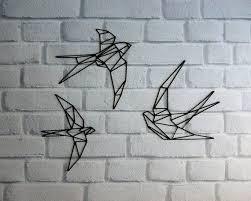 geometric tattoo bird geometric bird