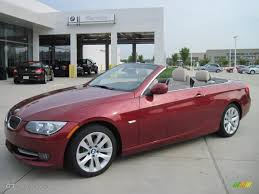 Coupe Series 2011 bmw 328i convertible : 2011 Vermillion Red Metallic BMW 3 Series 328i Convertible ...