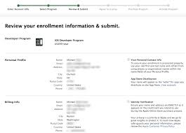 Apple In Profile' Address Different I Ask Wrong Enrolling Can Program 'personal Developer How Correct When A -