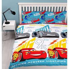 disney cars 3 lightning reversible double duvet cover bedding set car 411312