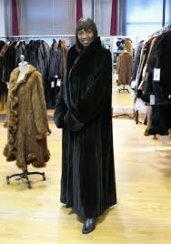 plus size mink coats