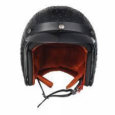 retro vintage leather helmet