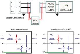 lsp surge protection modules littelfuse mouser design schematic