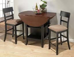 Kitchen Room New Small Round Dining Table Set Phenomenal Black