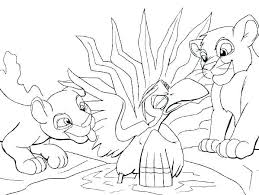 Coloring Pageslion Coloring Pages Lion Lion King Scar Colouring