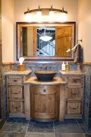 Simple Country Rustic Bathroom Ideas 26 Impressive Of Vanity Throughout Design