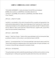sublease contract template 9 lease contract templates free word pdf documents download