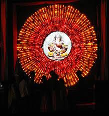 ganpati home decoration lighting lighting decor