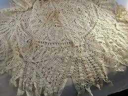 battenburg lace tablecloths 1 of 6 true vintage antique round lace tablecloth battenberg vinyl lace tablecloth