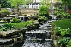backyard waterfall ideas backyard waterfall ideas improve home ambiance with backyard backyard waterfalls ideas to inspire